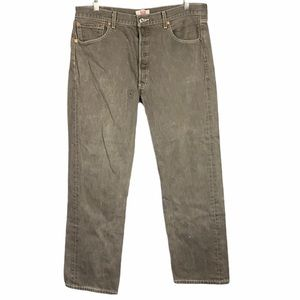Levis Original 501 Straight Button Fly Jeans -344